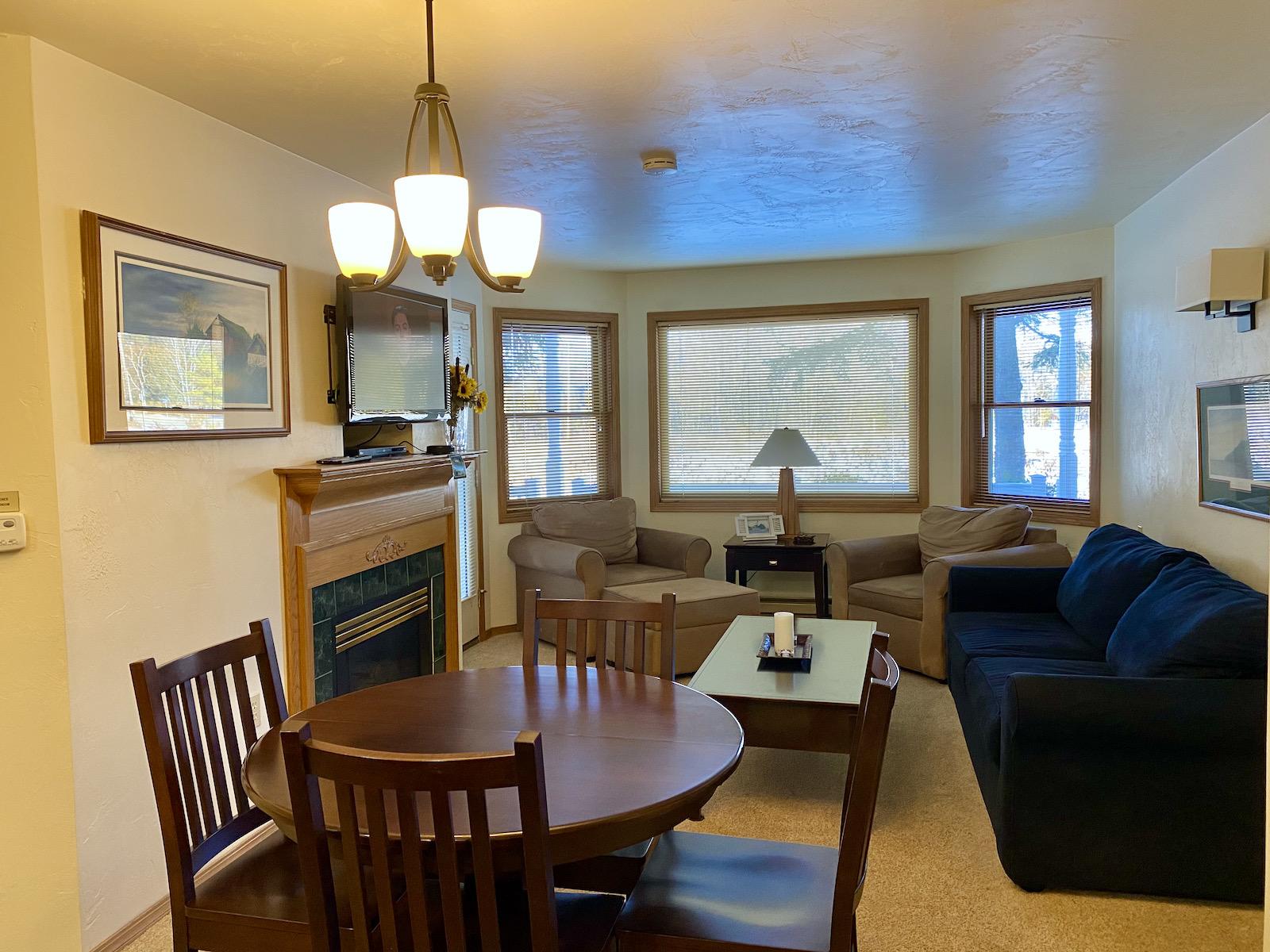 Living area at Pheasant Park