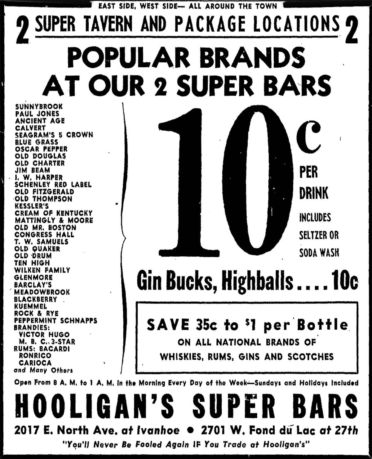 Hooligan's