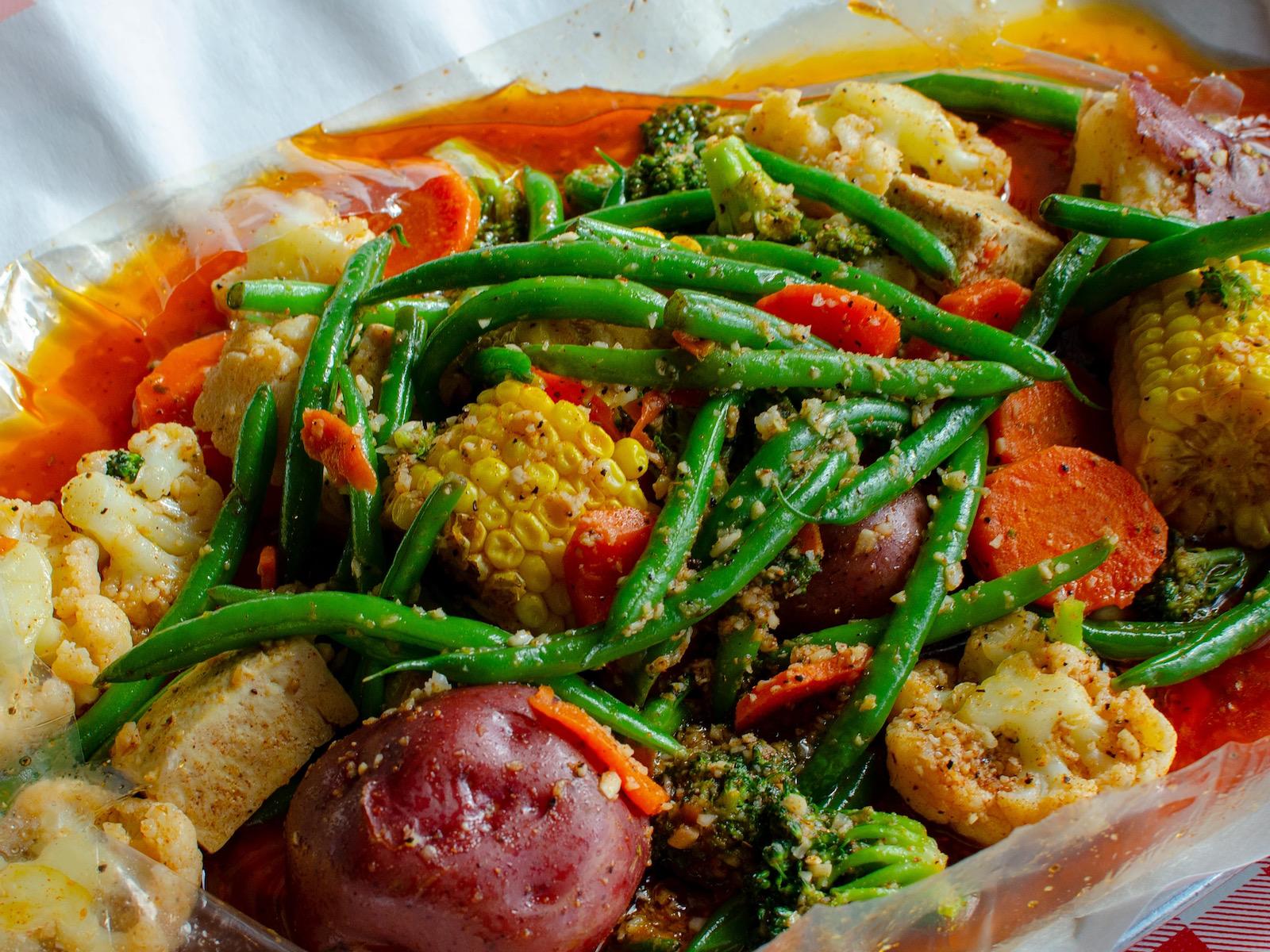 Vegetable boil