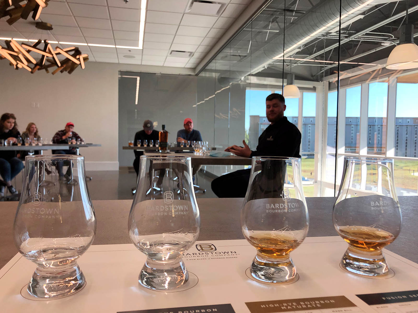 Bardstown Bourbon Company tasting