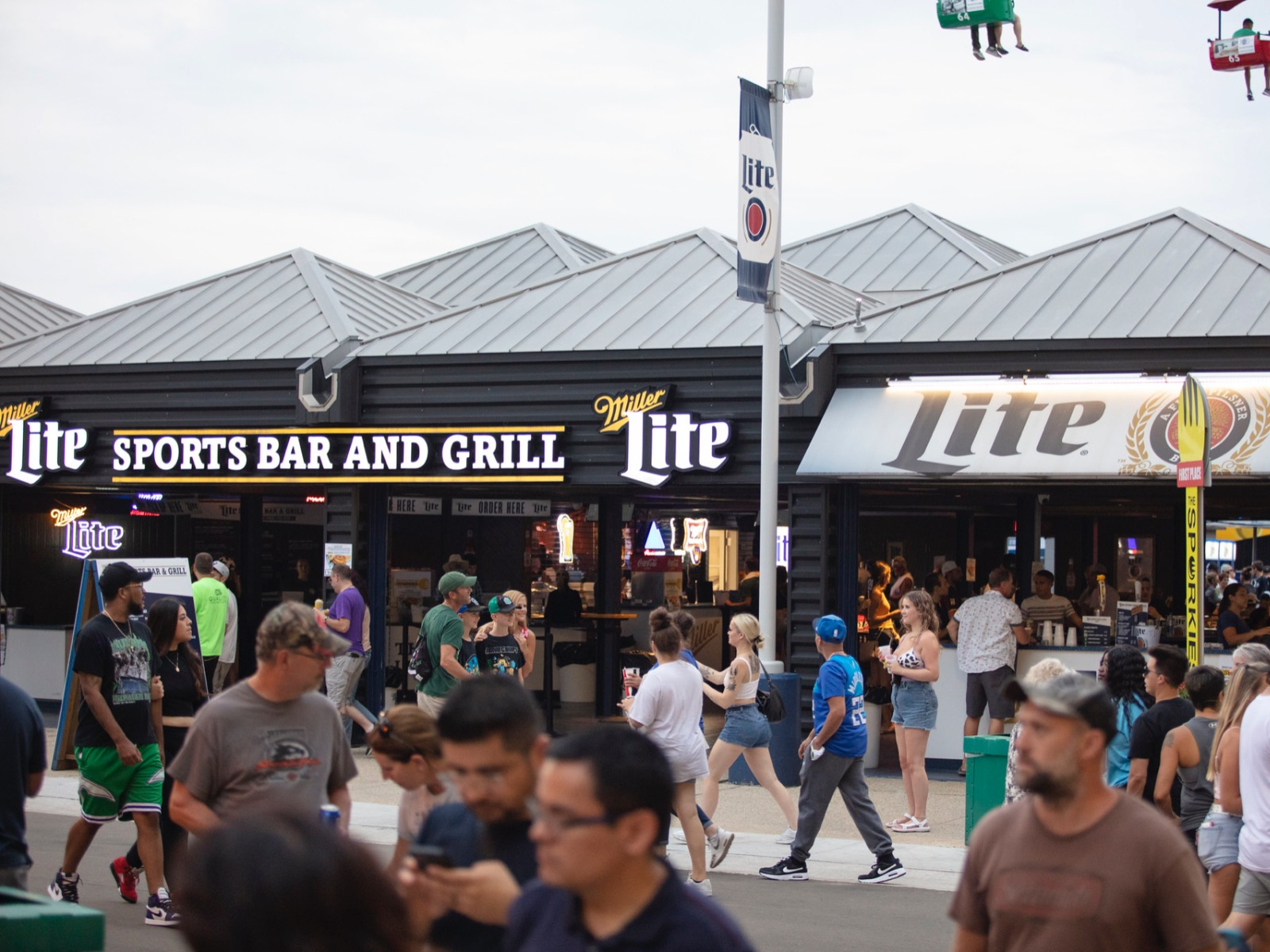 Miller Lite Sports Bar & Grill at the Wisconsin State Fair