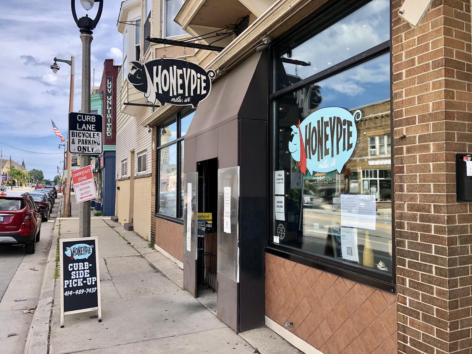 Honeypie Cafe exterior