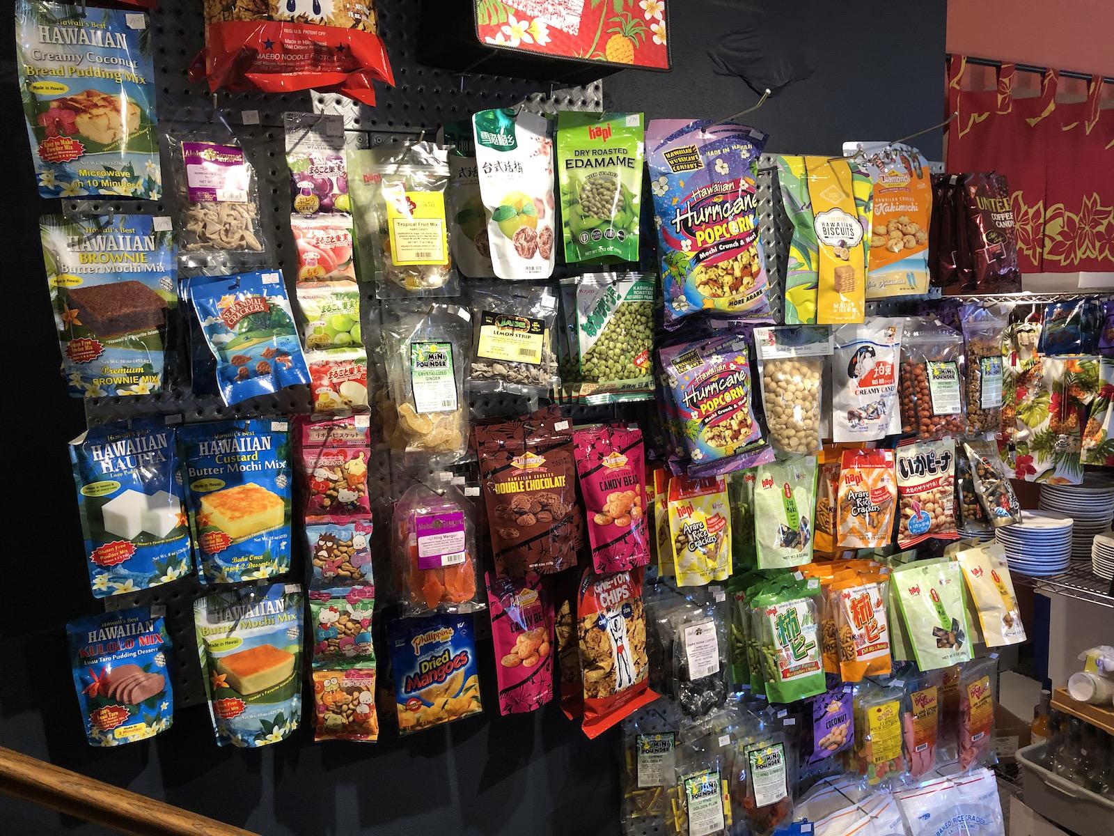 Snacks at Ono Kine Grindz