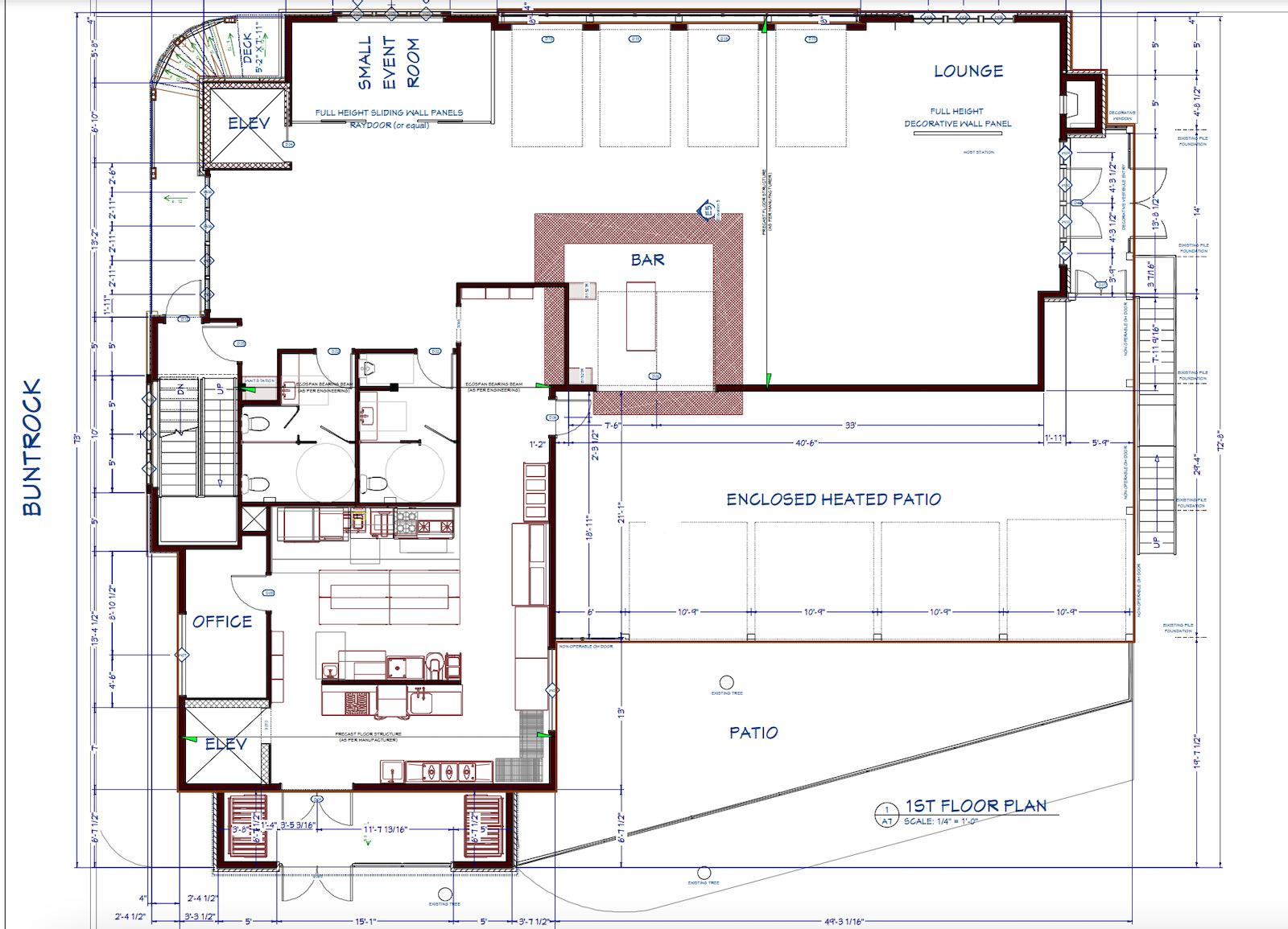 the cheel floorplan