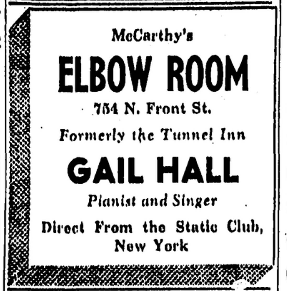 Elbow Room 1944