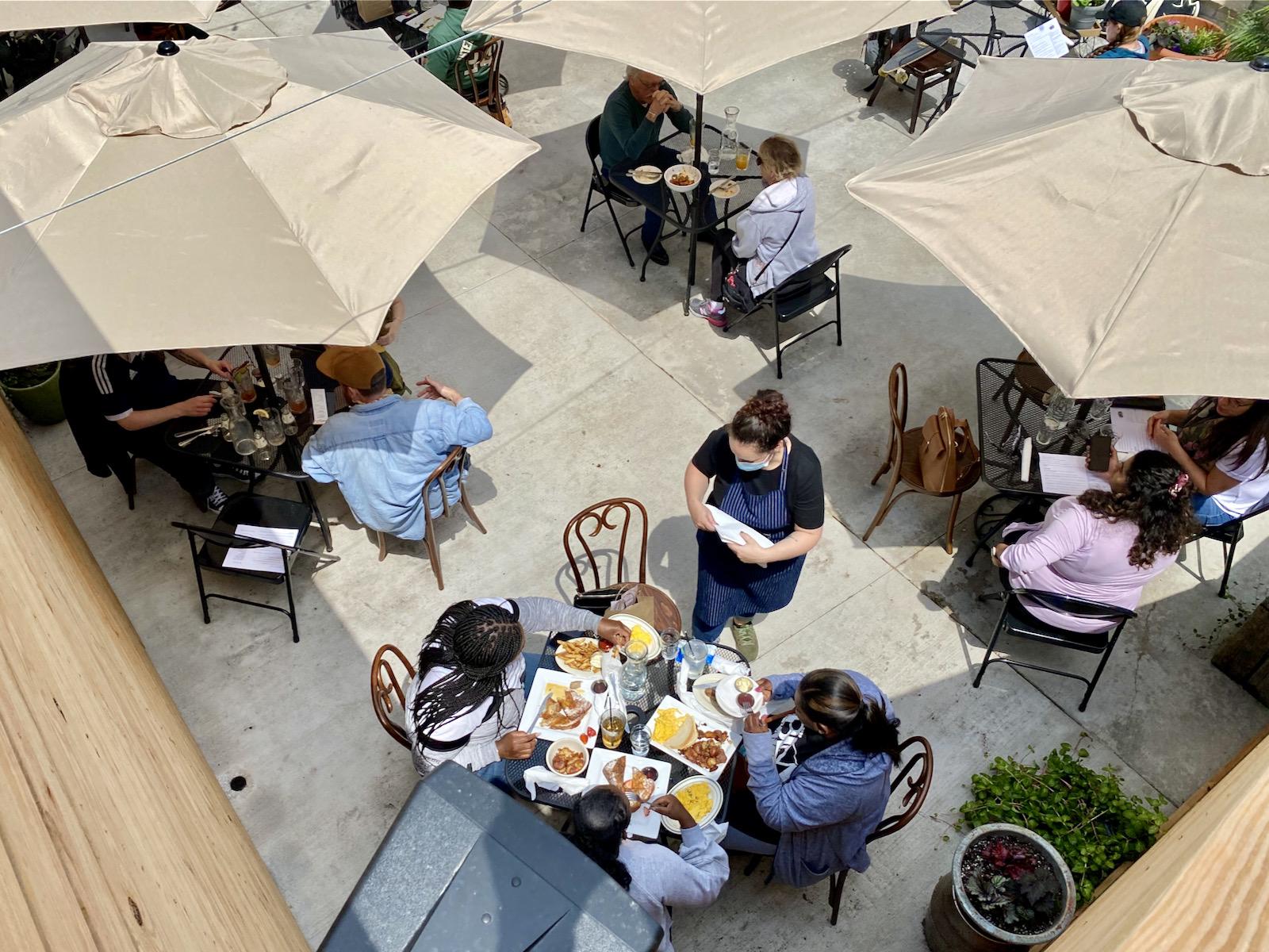 Honeypie Cafe Patio