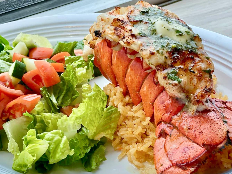Salvadoran lobster tail