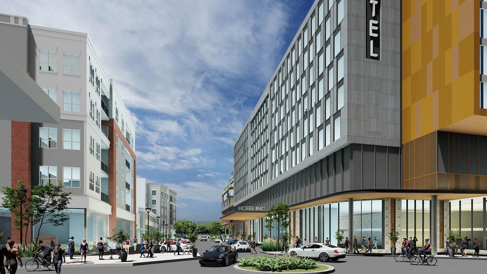 Corners of Brookfield West End rendering