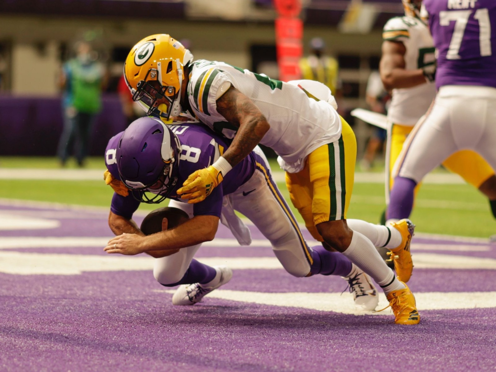 11 Nifty Images From The Packers Nifty Opening Win Against The Vikings