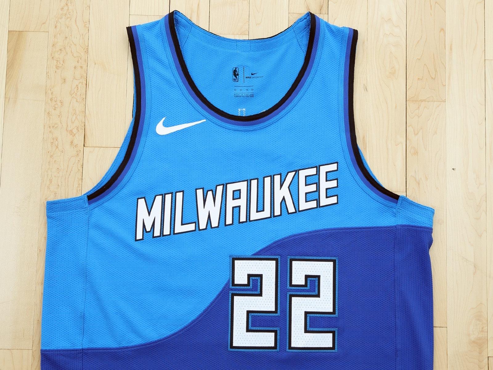 Making waves: Bucks reveal new 2020-21 alternate City Edition jersey