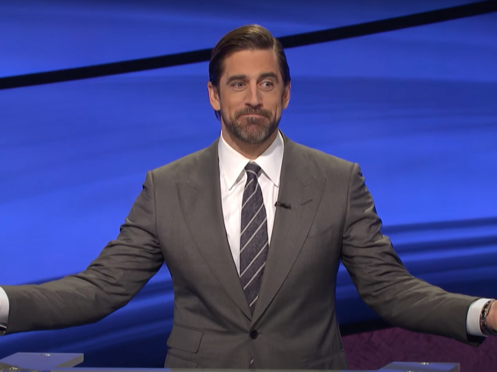 "And now, a sad update from Aaron Rodgers' ""Jeopardy"" hosting gig"
