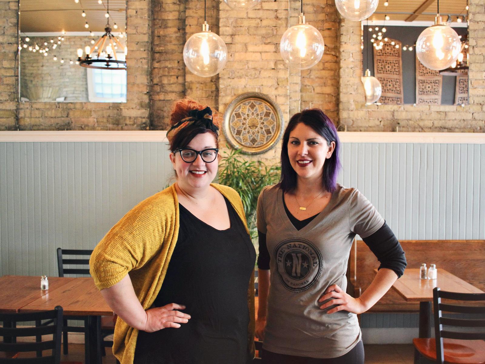 The National Cafe owners Angie Wierzbinski and Amy Plennes