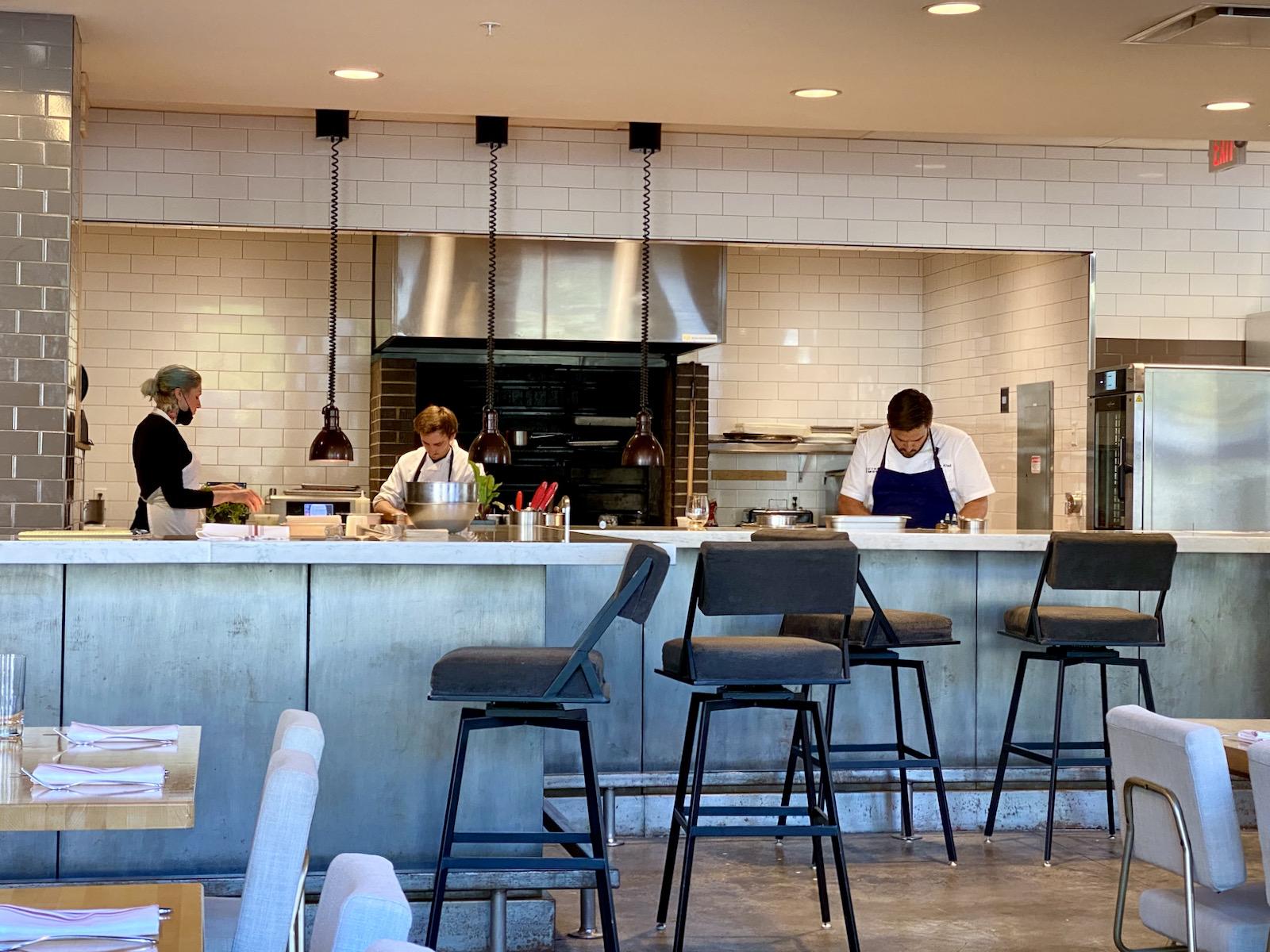 Open Kitchen at Birch