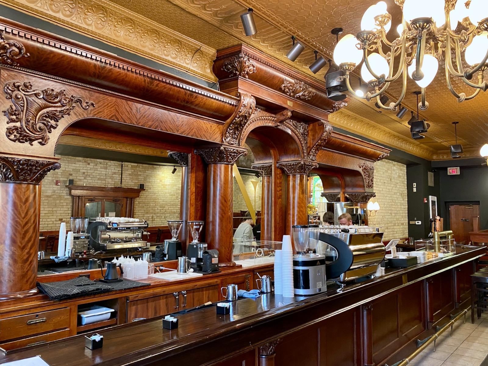 Bar at Vendetta Coffee Bar