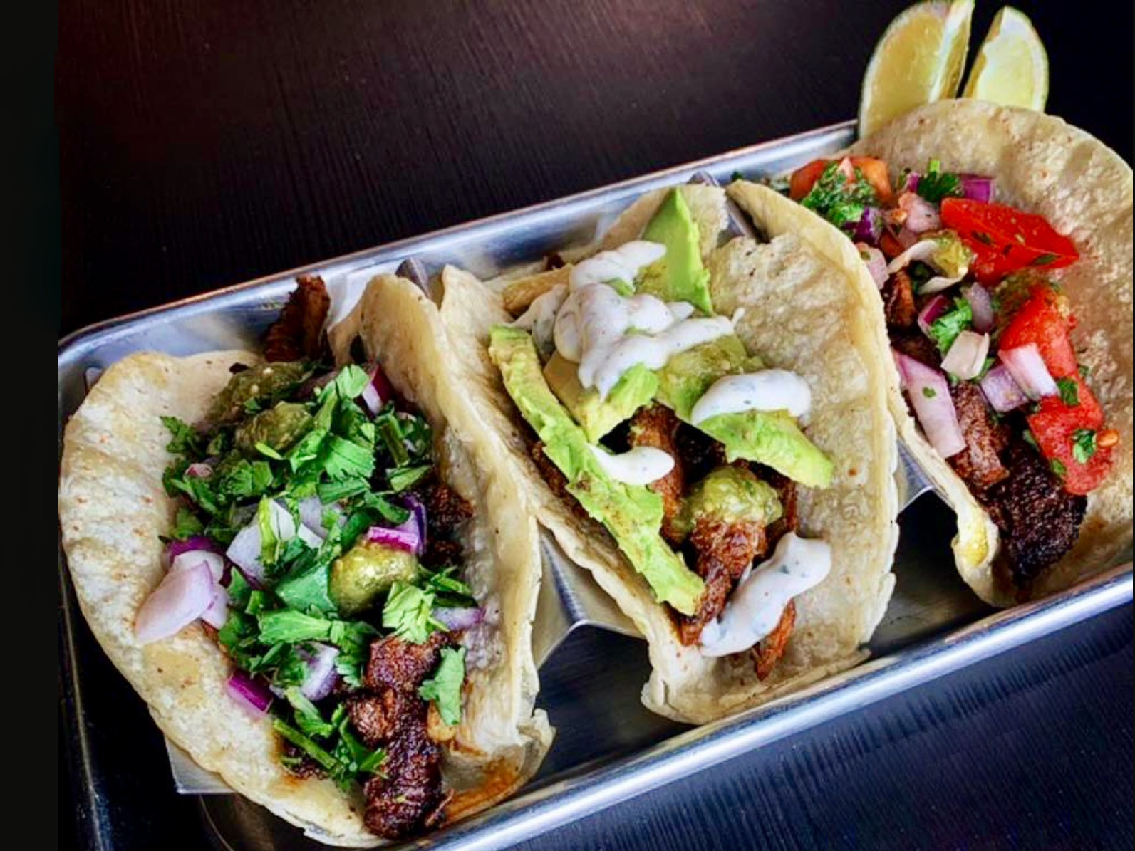 Lucky's Spitfire's tacos