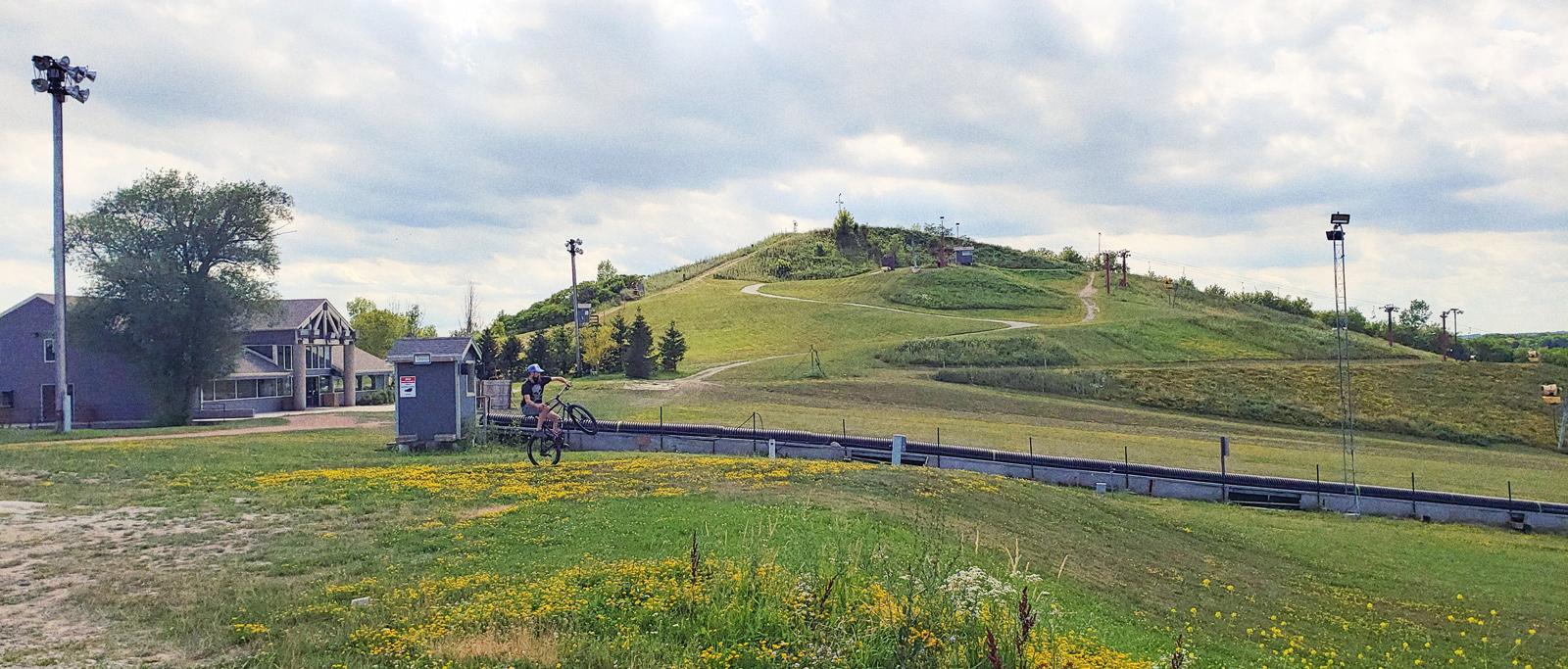 The ski hill at The Rock Sports Complex