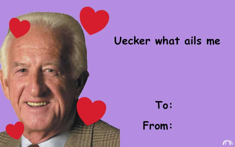 Uecker what ails me valentine