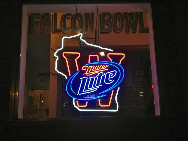 Falcon Bowl sign