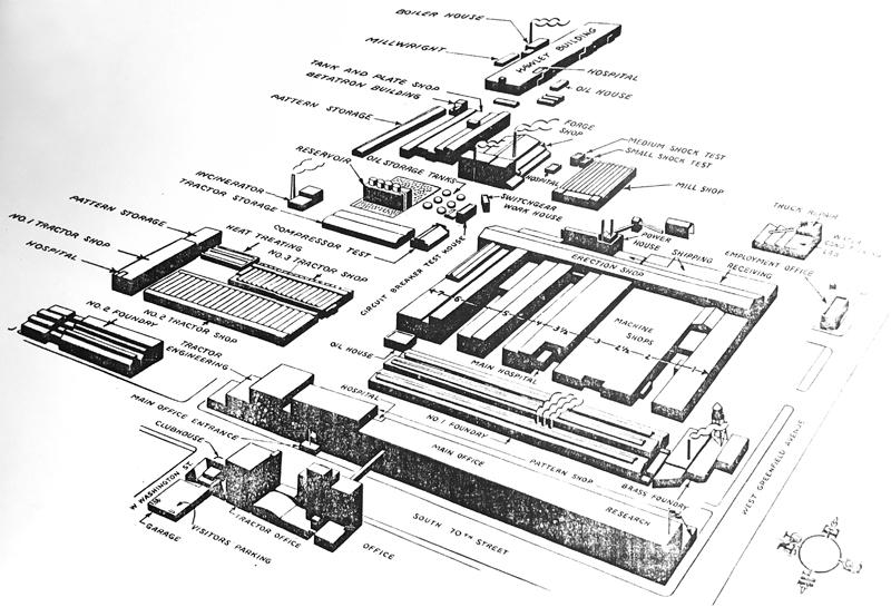 Allis-Chalmers map