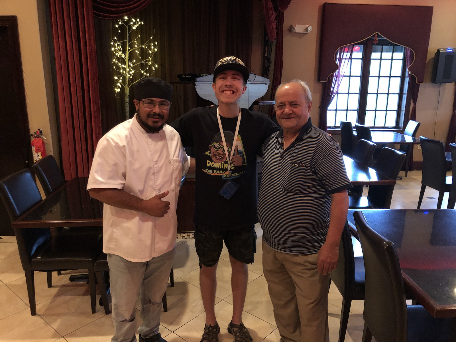 Dominic and the Casablanca chefs