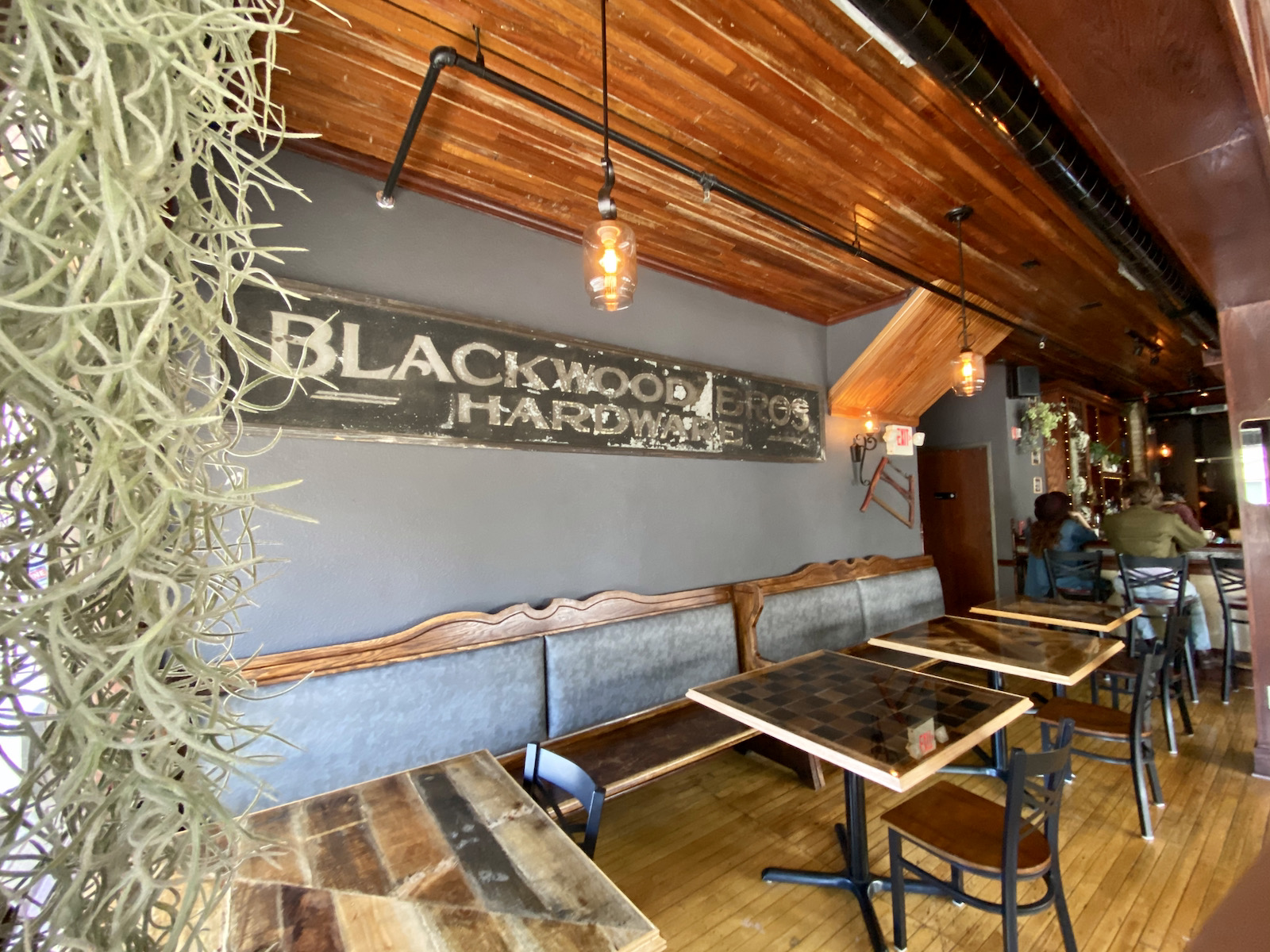 Original Blackwood Brothers Hardware Store sign