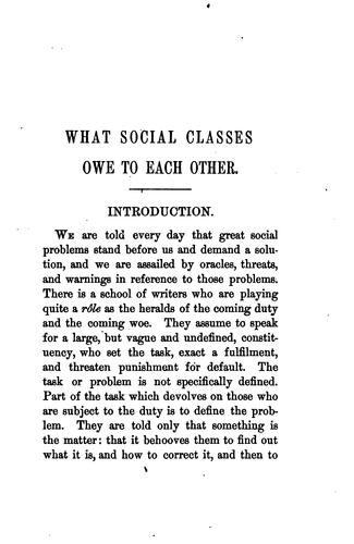 What Social Classes Ow...