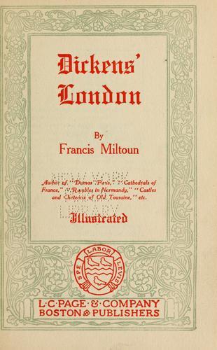 Dickens' London