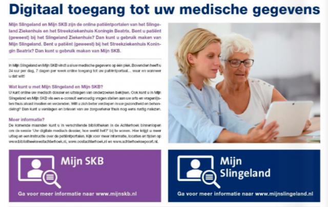 Uw digitale medisch dossier, hoe werkt het? 07-11-2019 14:00