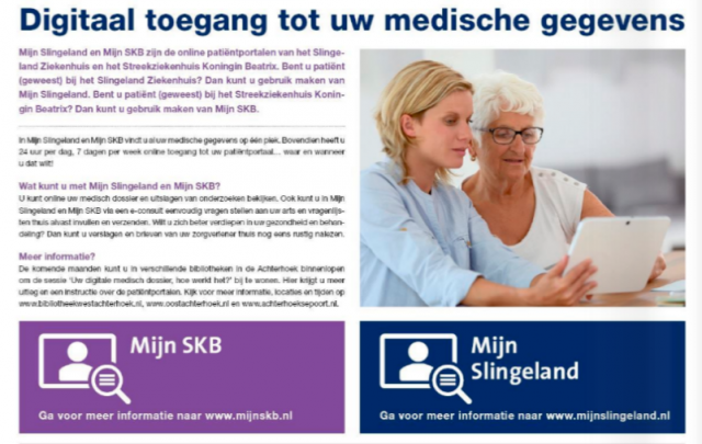 Uw digitale medisch dossier, hoe werkt het? 14-11-2019 10:00