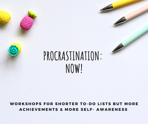 Training Procrastination: NOW!