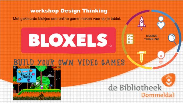 #DTW2021 Workshop Design Thinking: een game ontwerpen met Bloxels!