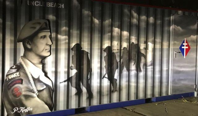 De tweede wereldoorlog in de beleefcontainer