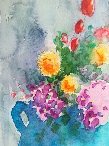Workshop bloemen aquarelleren