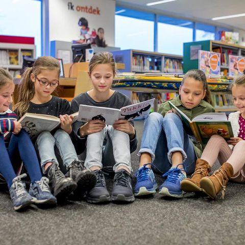 Skoolzone in Bibliotheek Helmond