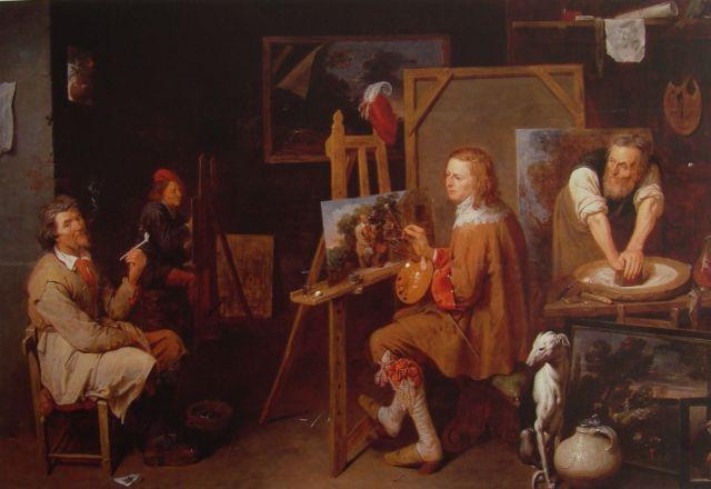 Schilderkunst in de Nederlandse Gouden Eeuw: ambacht, productie en klandizie