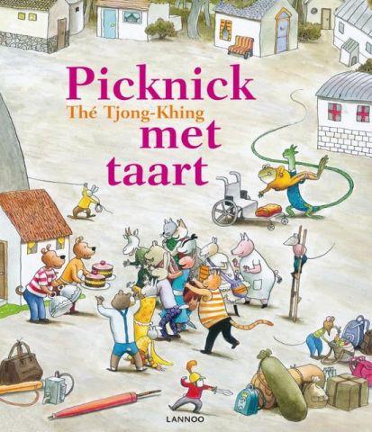 Picknick met taart - Thé Tjong-Khing