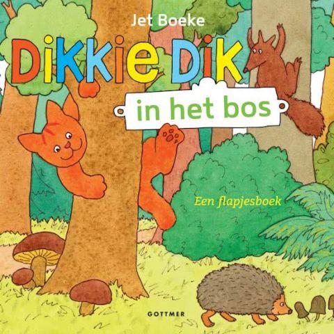 Dikkie Dik pakket in het bos - Boekstart pakket 0-4 jaar
