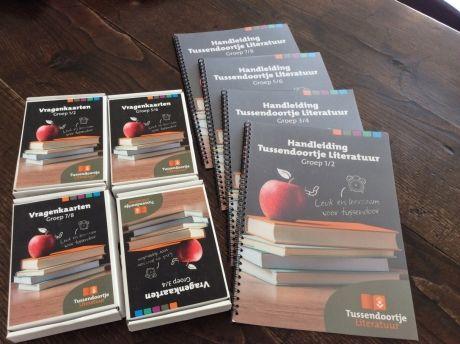 Tussendoortje Literatuur - Meer literatuureducatie in school of behoefte aan een project voor tussendoor? Kies dan voor het Tussendoortje Literatuur!