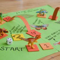 Maak je eigen dino-bordspel! - Online workshop