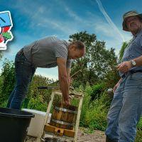 De Proeftuin On Tour: Zelfgemaakt appelsap voor fijnproevers