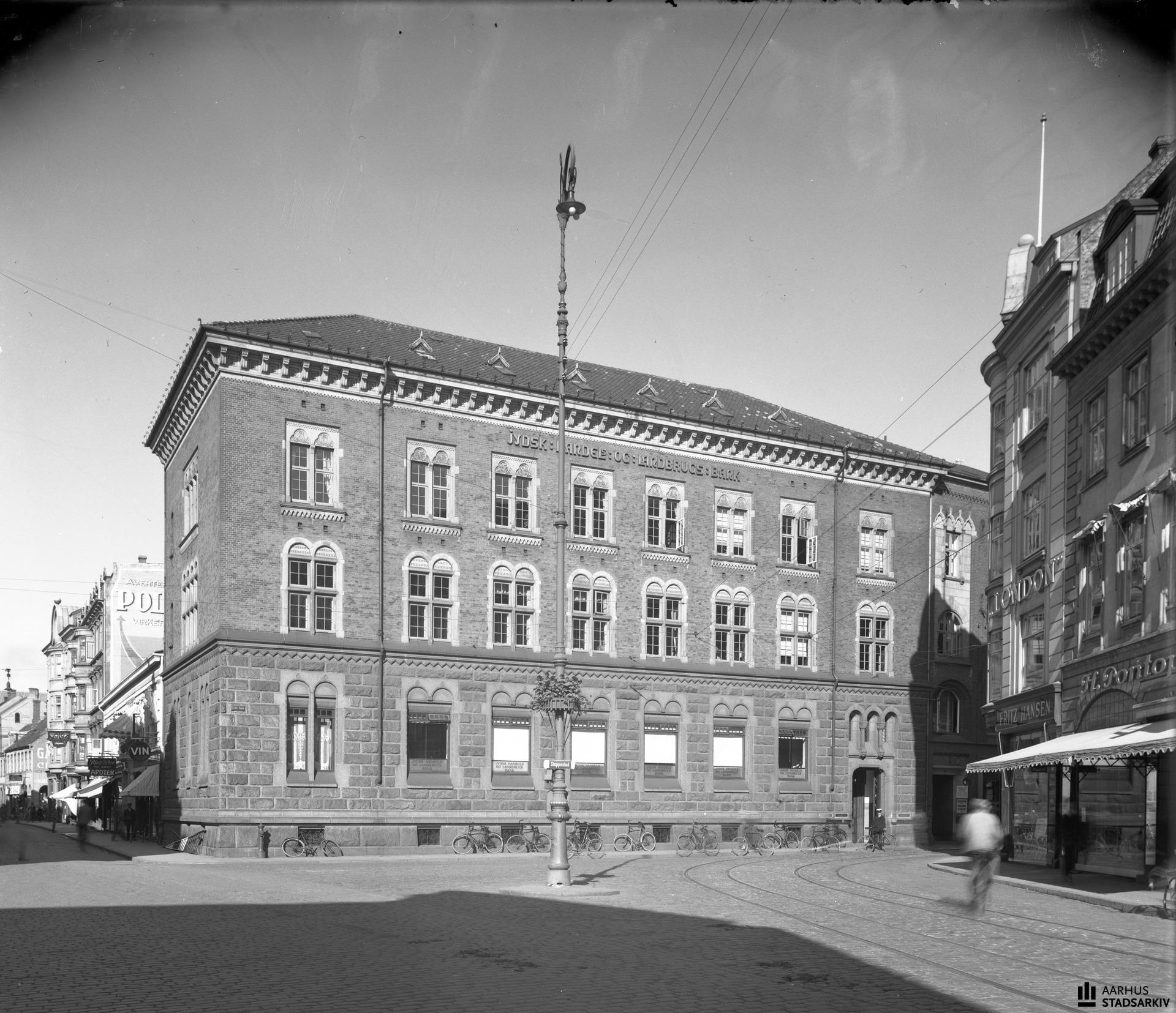 Jydsk Handels Landbrugsbank Aarhus Aarhusarkivet
