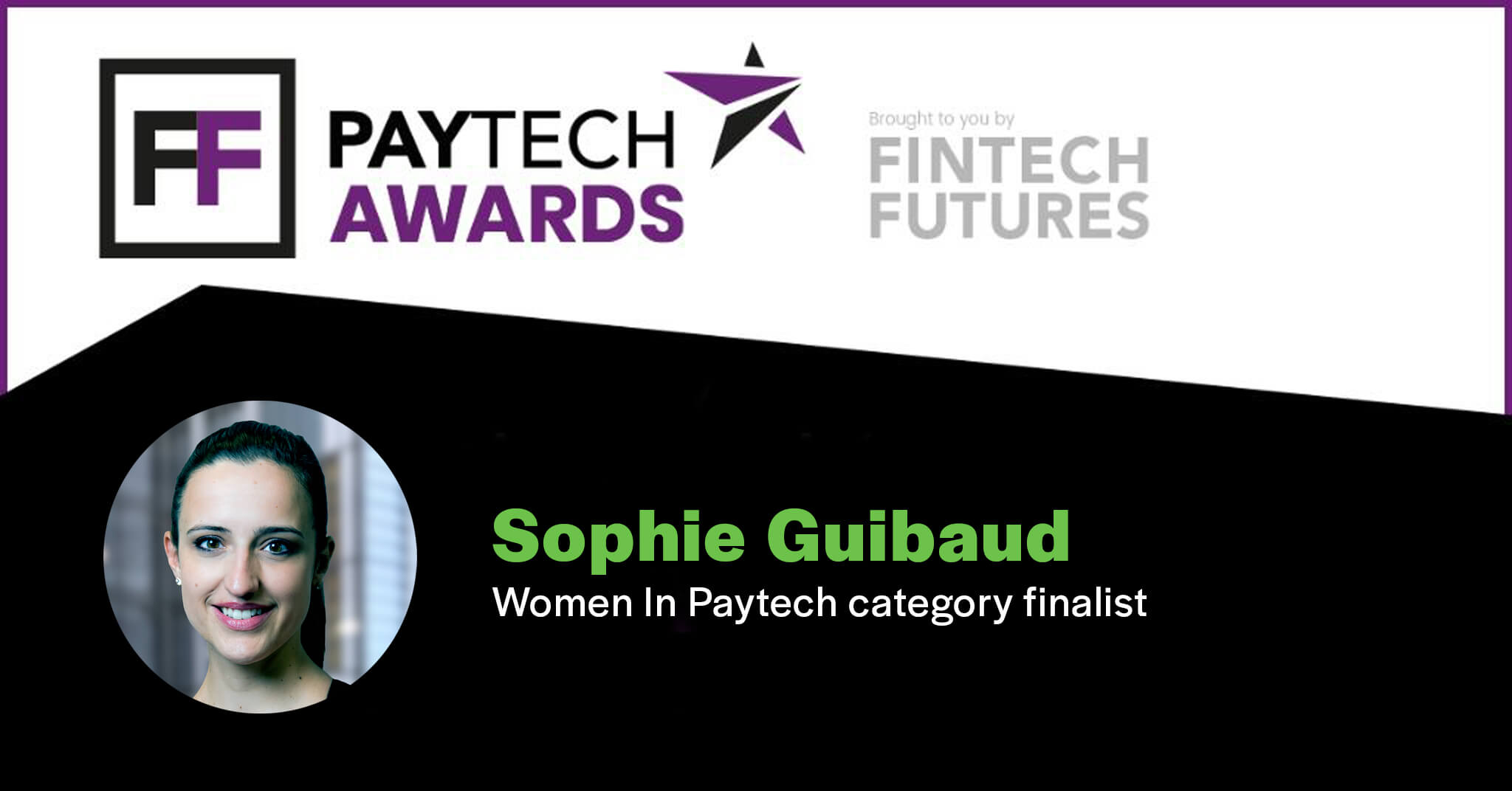 OpenPayd's Sophie Guibaud shortlisted for PayTech Award