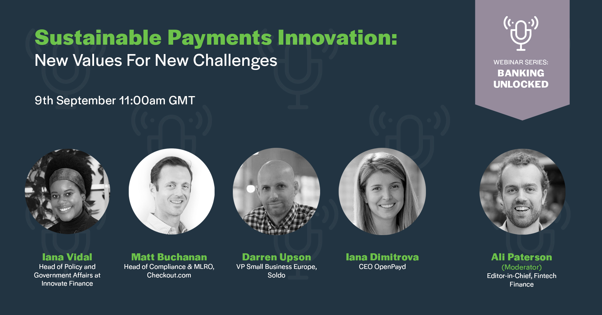 Sustainable Payments Innovation: New Values For New Challenges