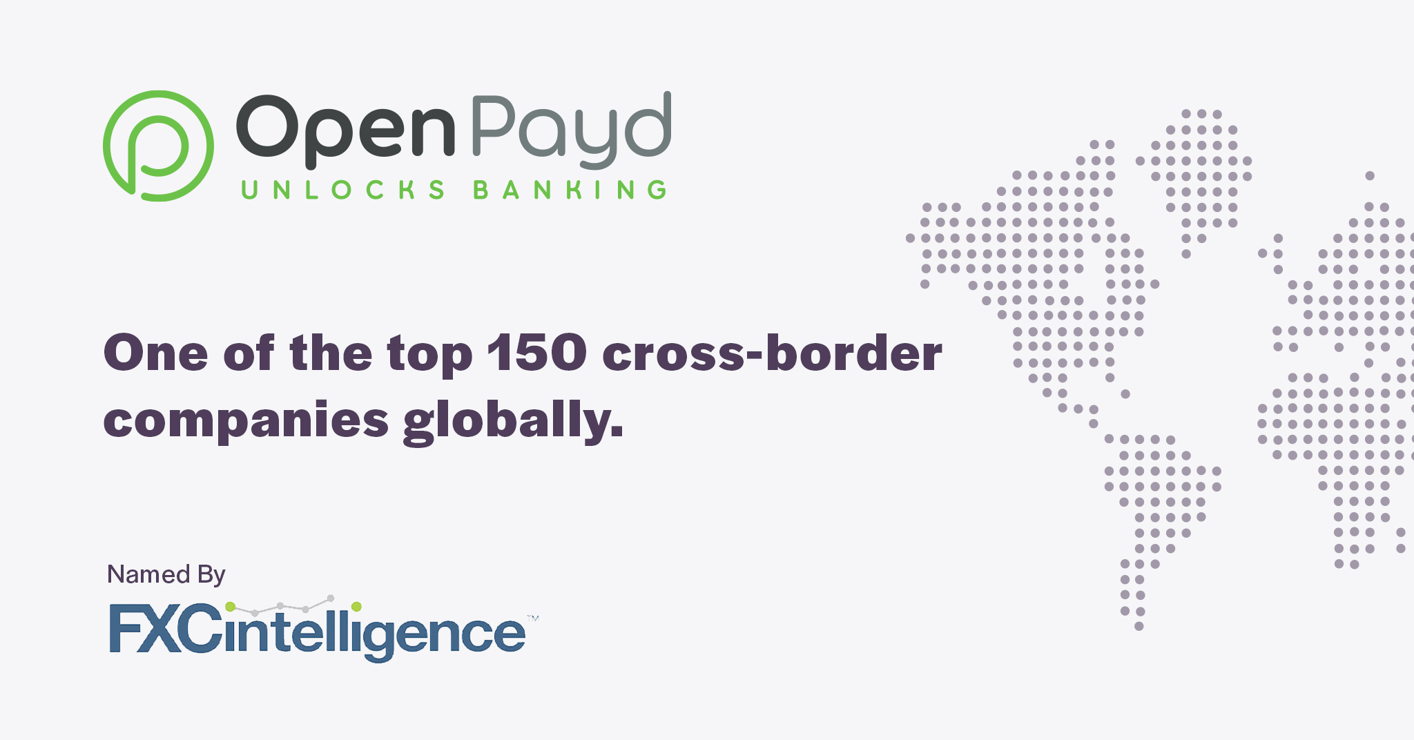 OpenPayd named in 150 top cross-border companies