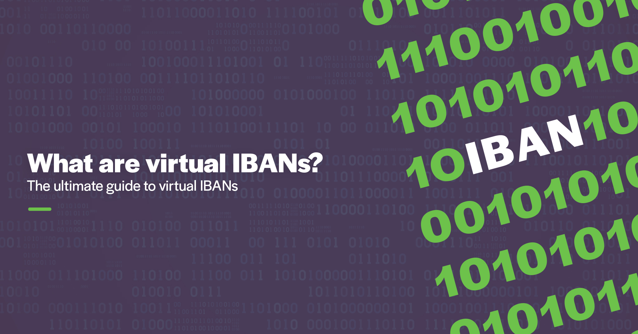 What are virtual IBANs?