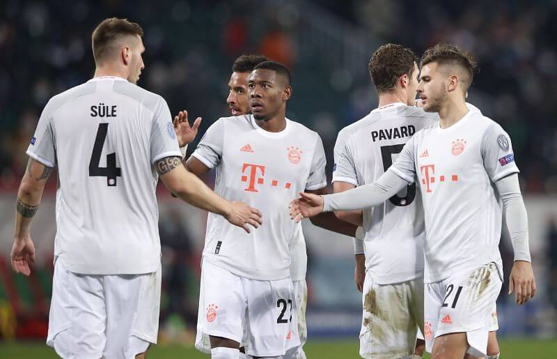 Bayern Munich continue its dominance in Champions League defeating Salzburg