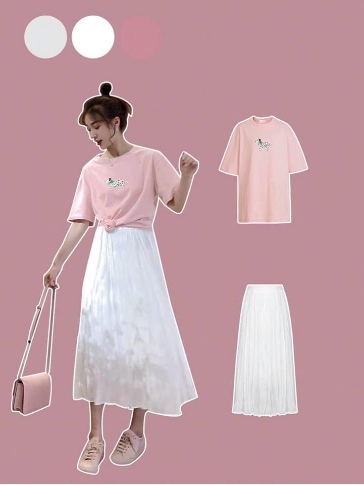 áo phông nữ hàn quốc