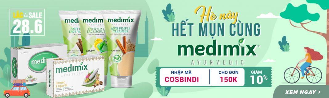 mỹ phẩm thiên nhiên Medimix