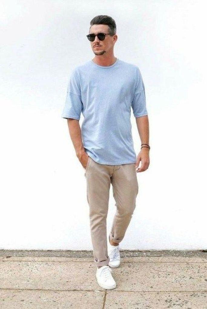7 cách phối quần áo cho nam giới thấp