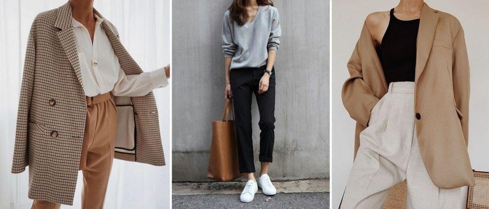 phối màu trung tính cho quần áo nữ